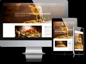 restaurant website menston