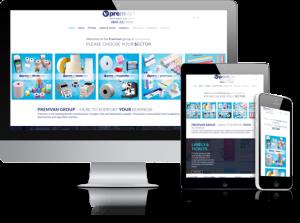 Premvan website by Hydra in Menston
