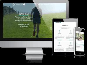 Walking Fit Website Menston